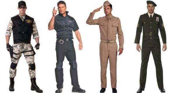 mens military uniform costumes - would like to see my bear in all of these quite frankly...