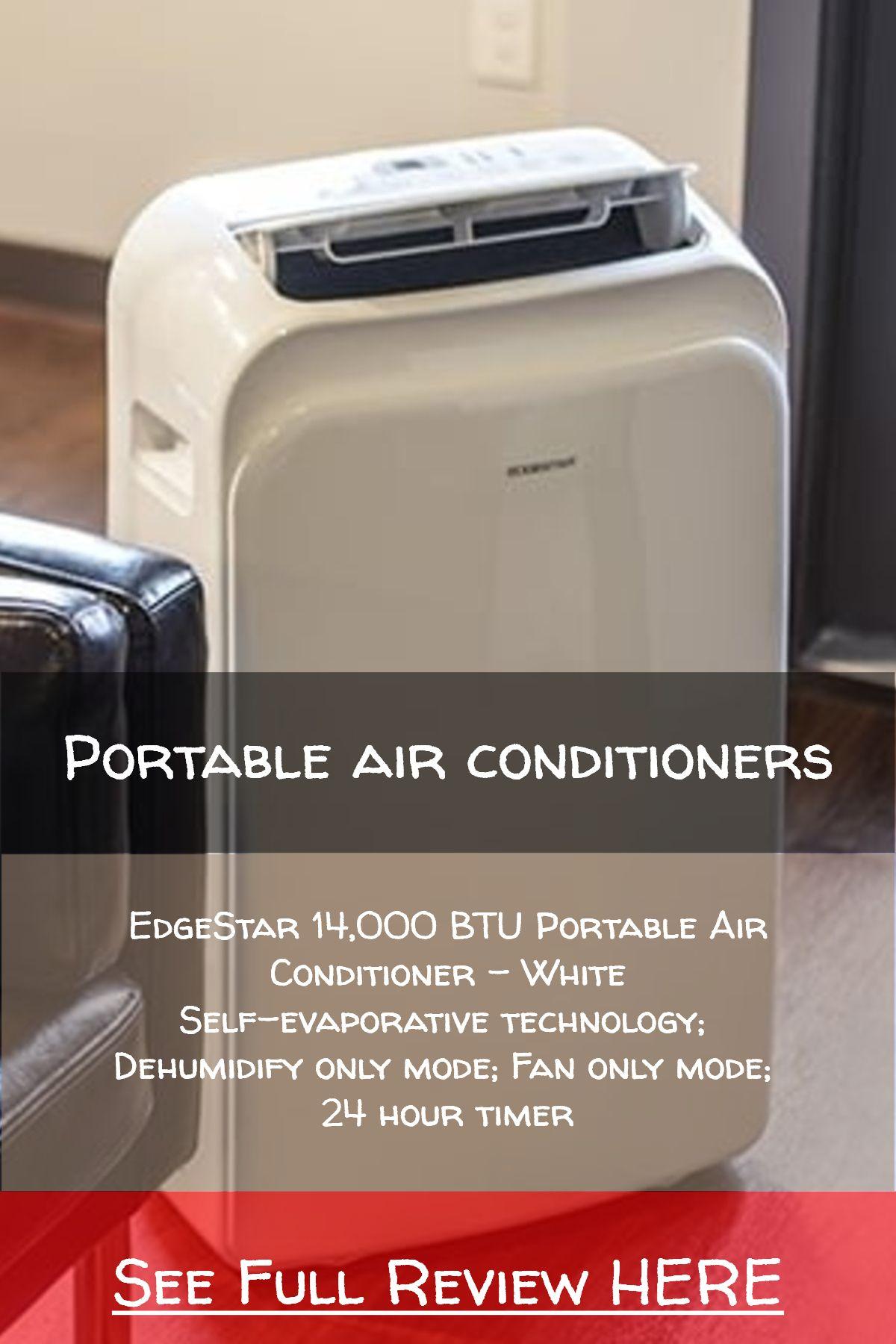 Portable air conditioners / EdgeStar 14,000 BTU Portable