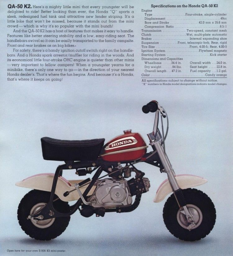Honda QA50 Mini-Bike