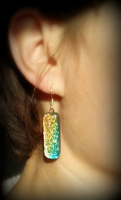 Shop Jewelry. Earrings, Glass Pendant, Dichroic Jewelry