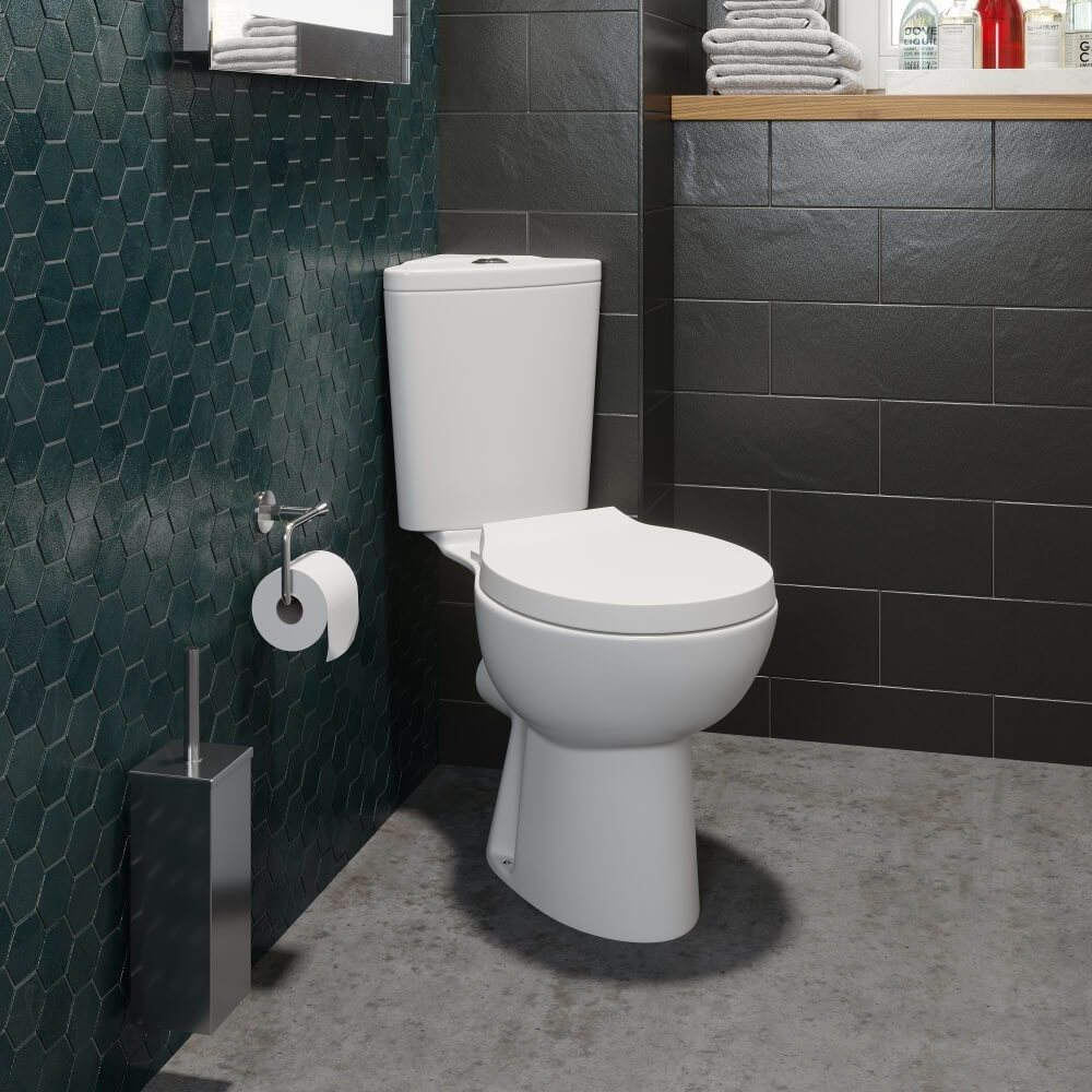 Ceramica Forli E Saving Corner Toilet Soft Close Seat High End Quality Internet Only Price In Stock Delivery Next Day