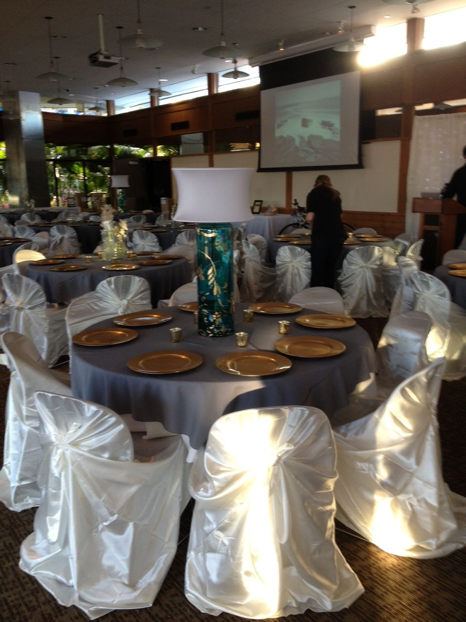 Event Setup With Party Time Ames Ia Rental Items With Images Table Decorations