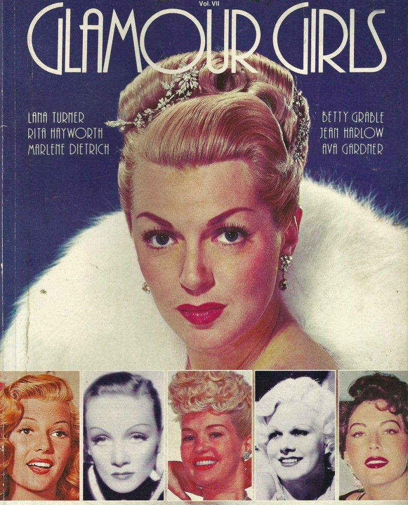 Glamour Girls Of The Movies. Some Classic '40s Styles