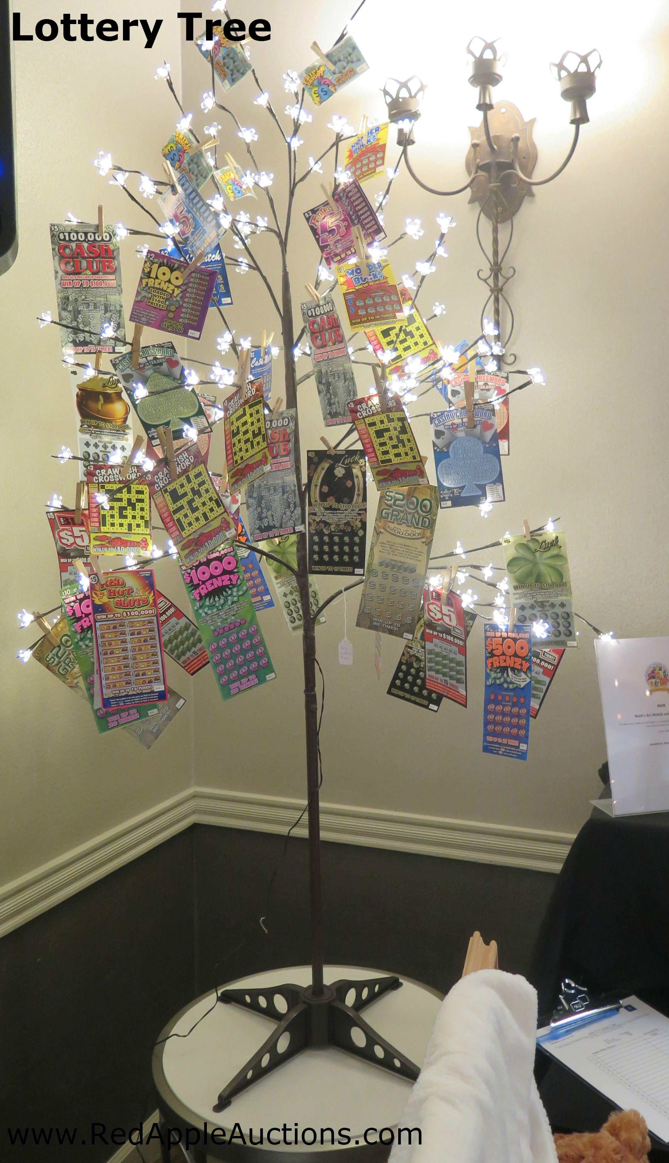 lottery ticket tree gift ideas