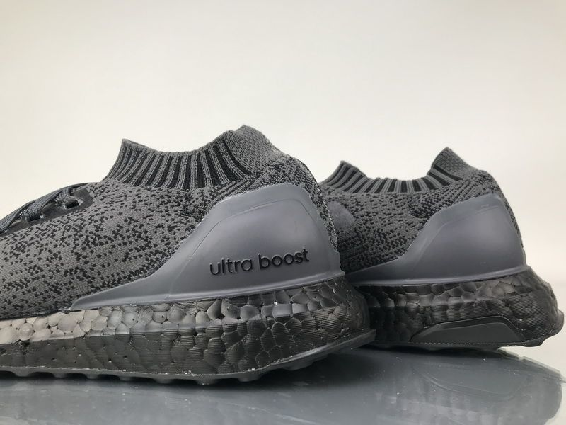 "quality design 81f3d eef29 Adidas Ultra Boost Uncaged ""Triple Black"" Real Boost BA7996 ..."