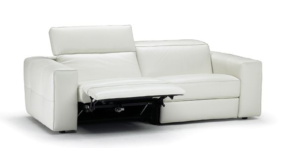 Natuzzi Americas Brio Motion Sofa Part Of Its Italia Line Has Incline And Moveable Headrests For Just The Right Position Us