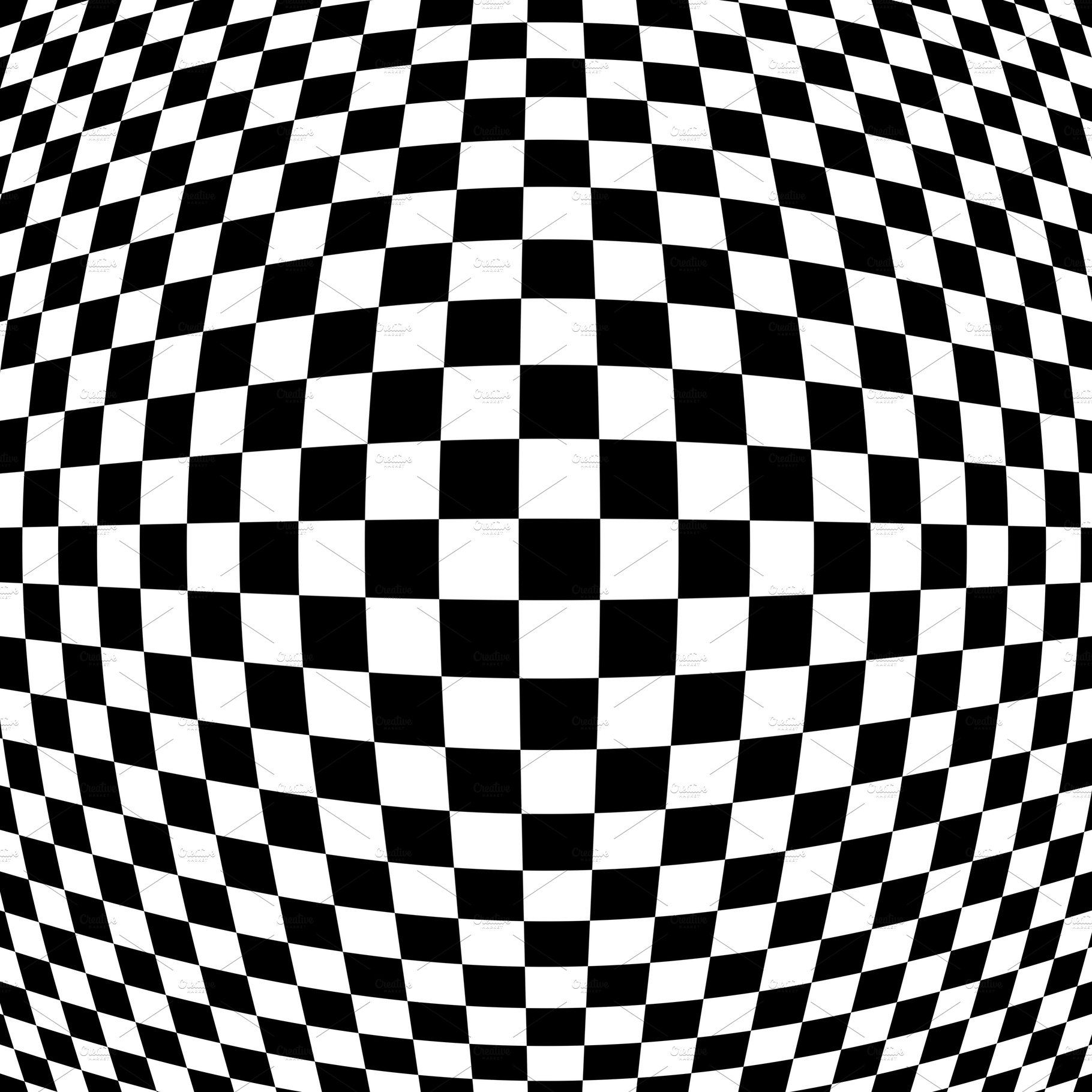 Checkered Abstract Wallpaper Black Abstract Wallpaper White