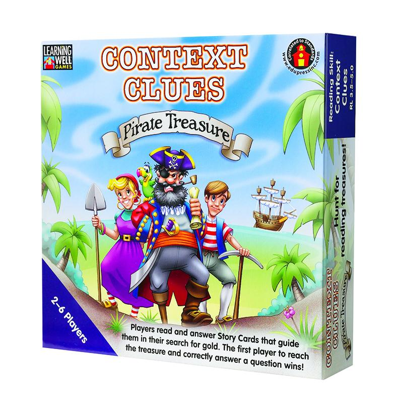 CONTEXT CLUES PIRATE TREASURE BLUE (With images) Context