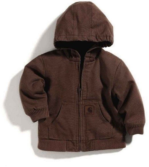 59be3060f Amazon.com: Carhartt Baby-boys Infant Active Quilted Flannel Lined ...