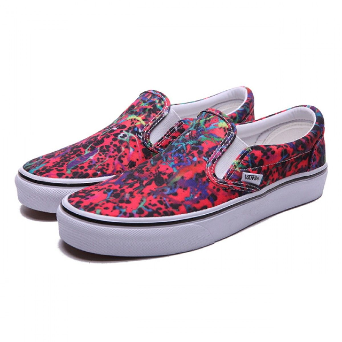 vans skate shoes womens red