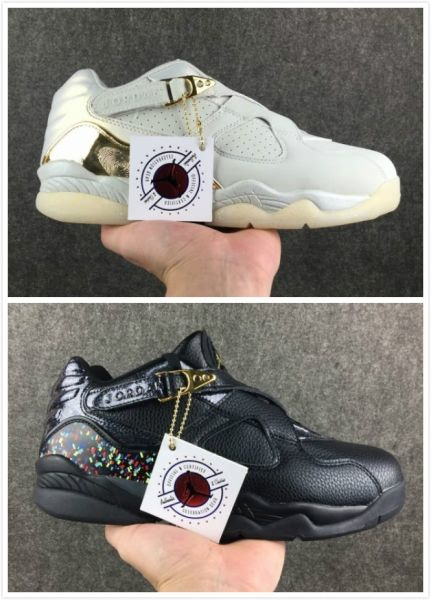 cf01a924bcd cheap wholesale Air Jordan 8 Retro Champion AA 2018 Low Mens shoes ...