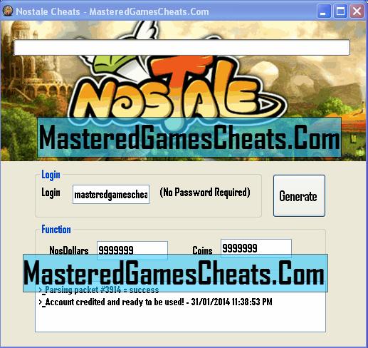 nostale or hack