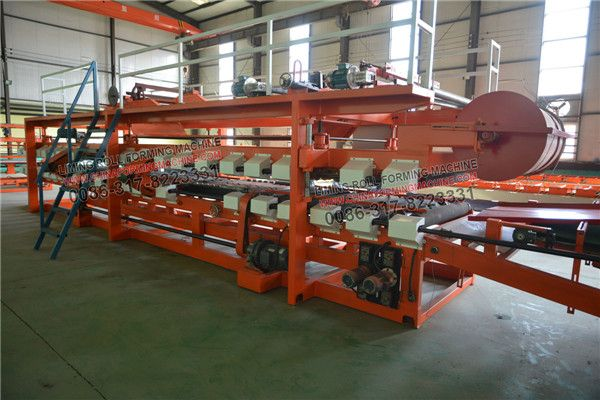EPS #sandwich #panel #production #line is automatic