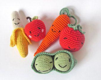 Amigurumi Vegetables : Amigurumi vegetables etsy