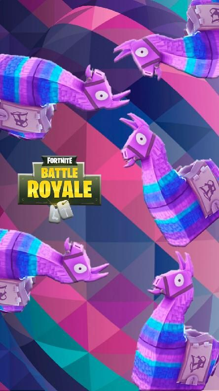 Ultra Hd Fortnite Llama Wallpaper