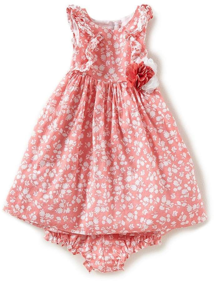 Laura Ashley London Baby Girls 12 24 Months Ditsy Floral Printed Fit