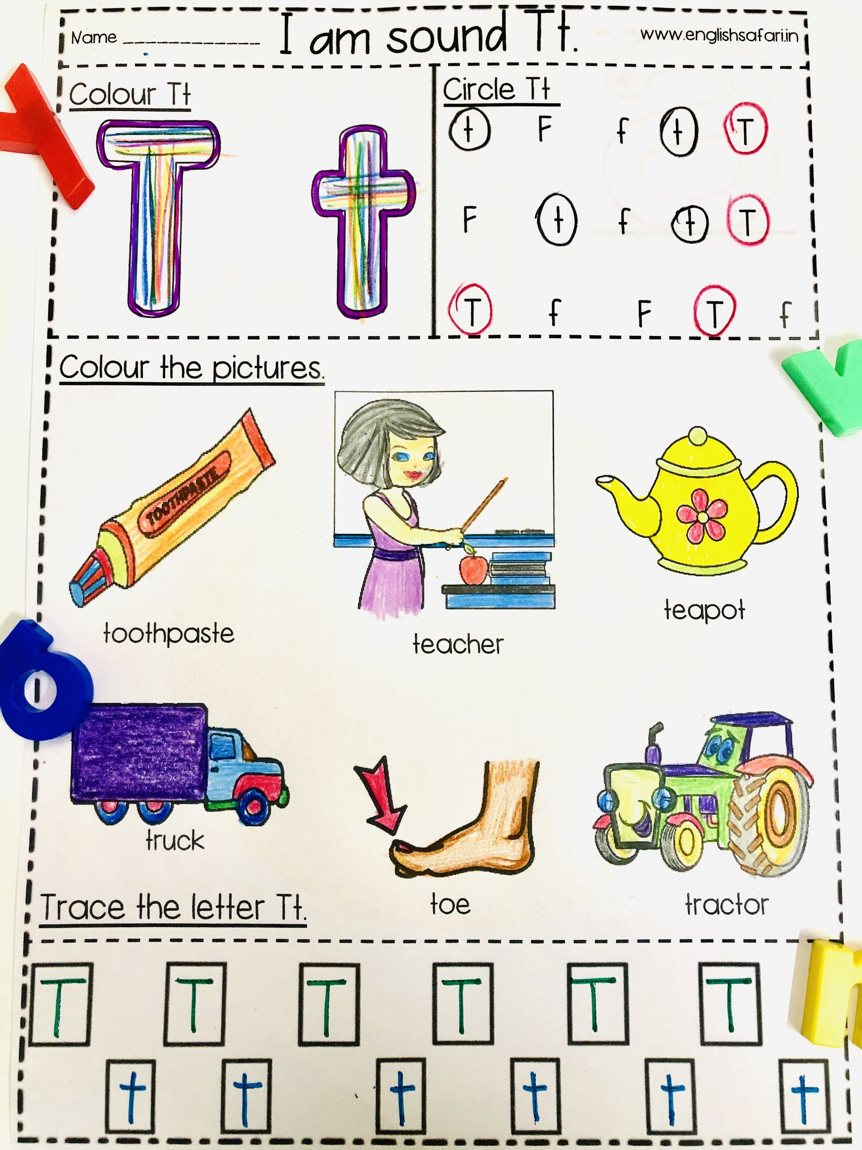 Beginning Sounds Worksheet Pack A Z Englishsafari