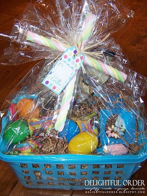 Inexpensive easter basket ideas holiday easter pinterest inexpensive easter basket ideas negle Images
