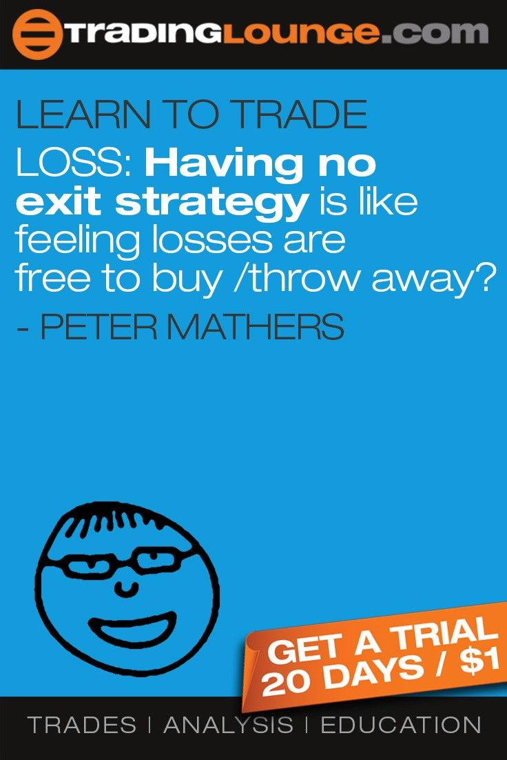 Learn To Trade Blog strategy, Trading, Exit strategy
