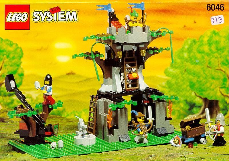 Castle Hemlock Stronghold Lego 6046 Old School Lego Castle
