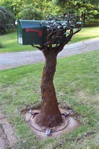 Unique mailbox post Build Your Own Funny Mailboxes Unique Mailboxes Custom Mailboxes Post Box Mail Pinterest Love It When Have My Own Home Pinterest Mailbox Mailbox