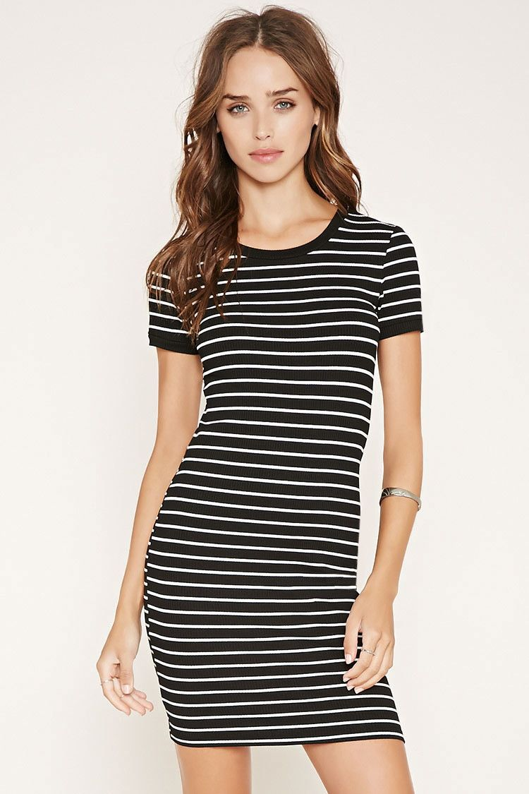 db019b5cca Stripe T-Shirt Dress