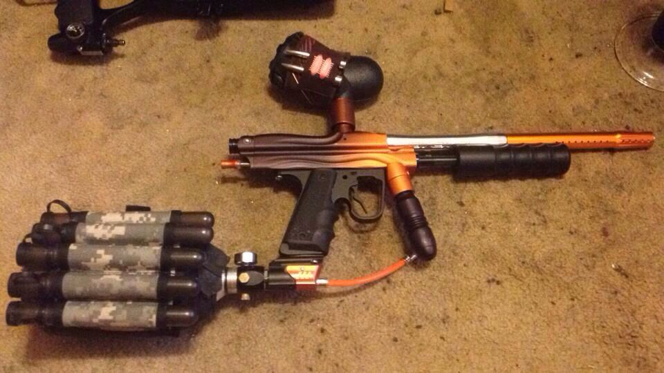 Wgp orrical auto cocker pump (With images) Paintball