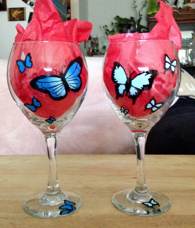 Pink Wine Glasses Pink Wine Glasses Pink Wine Glassware Drinking