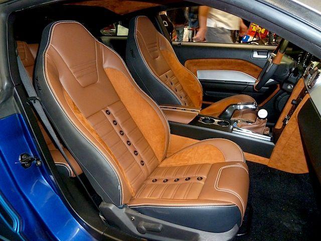 Interiors take center stage at sema 2013 auto addiction - 2013 mustang interior accessories ...