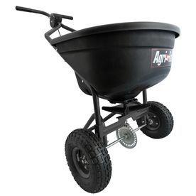 Agri Fab 110 Lb Broadcast Fertilizer Spreader 45 0526 Green Building Agri Wheelbarrow