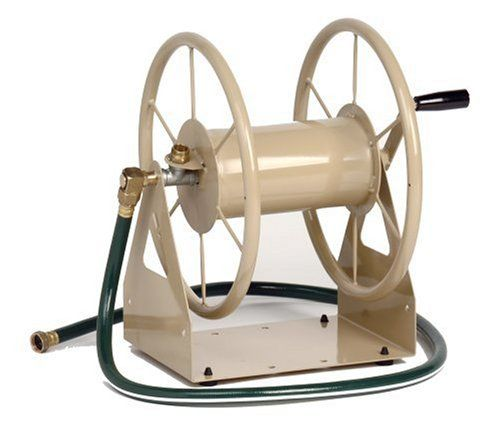 Liberty Garden Products 3-in-1 Garden Hose Reel With 200-Foot Hose Capacity 703-1-Bronze at http://suliaszone.com/liberty-garden-products-3-in-1-garden-hose-reel-with-200-foot-hose-capacity-703-1-bronze/