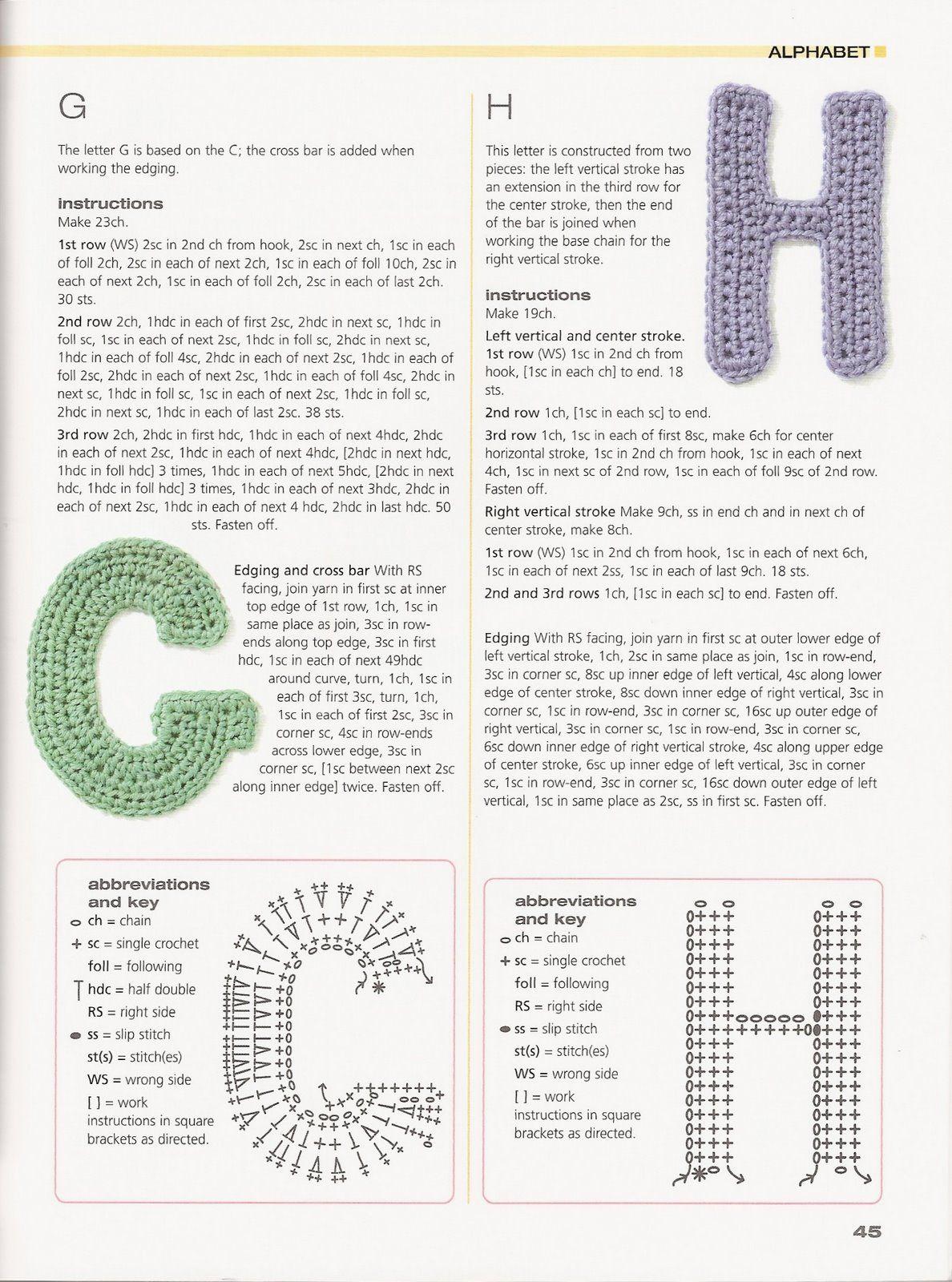 Esta tan completo y bello este alfabeto para decorar nuestro tejidos ...