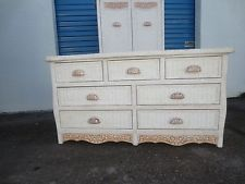 Pier 1 Wicker Dresser White Cottage Jamaica Imports One