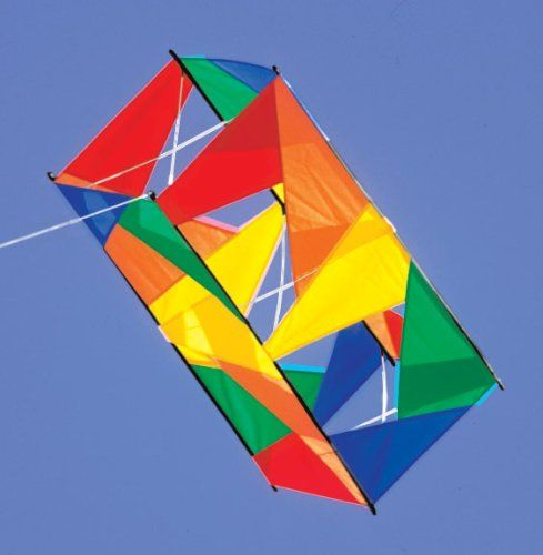 box kite cerf-volant boite 3d instruction
