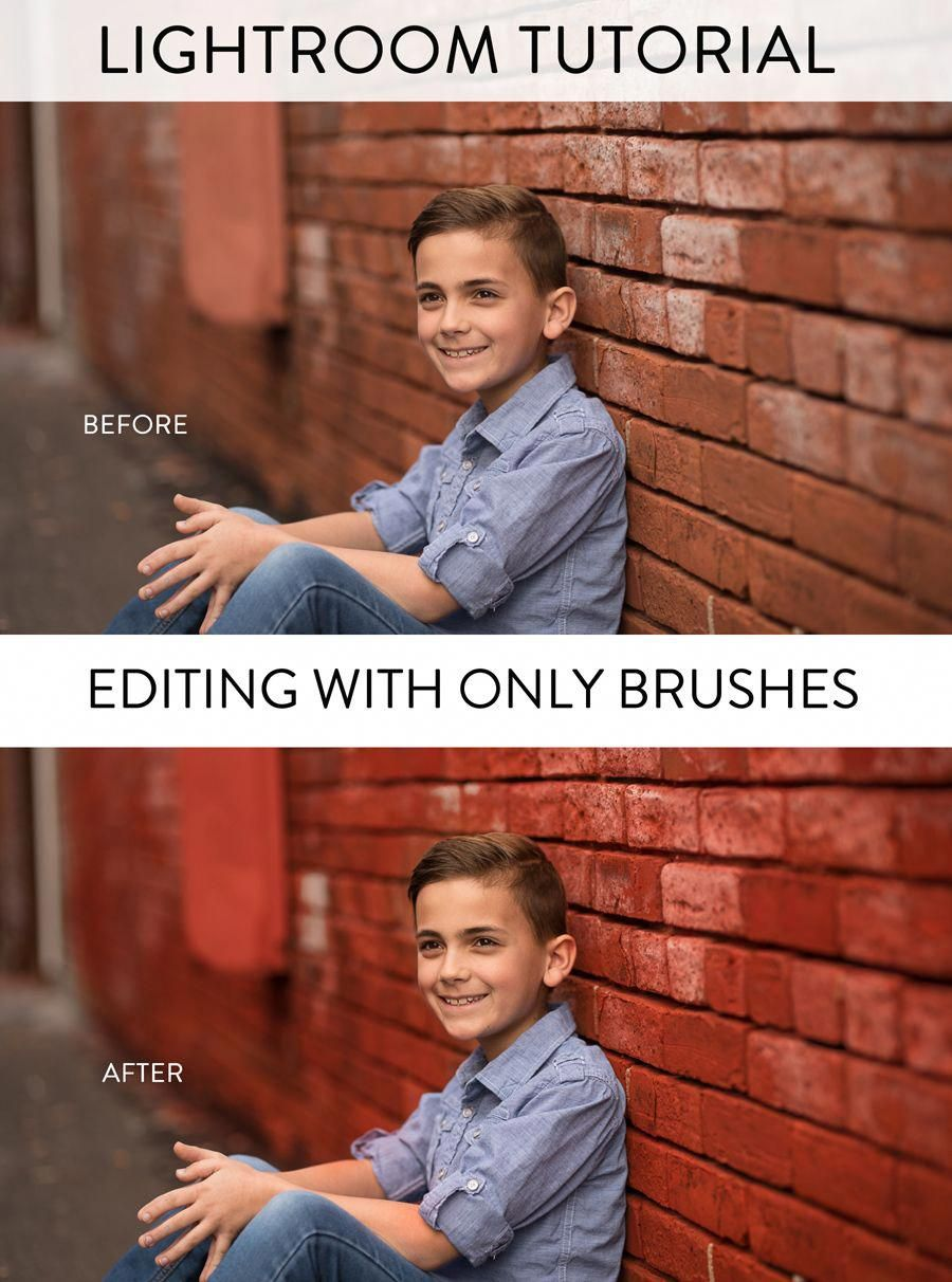 EDITING WITH LIGHTROOM BRUSHES #PhotographyPhotoshopPictures