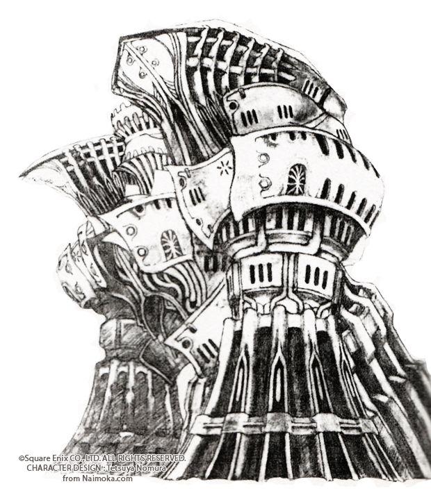 Week 8 Final Fantasy Viii Concept Art Mon Alexander