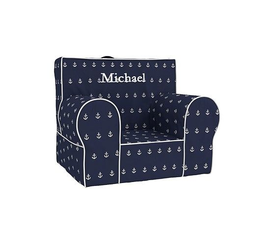 Navy Anchor My First Anywhere Chair Pottery Barn Kids