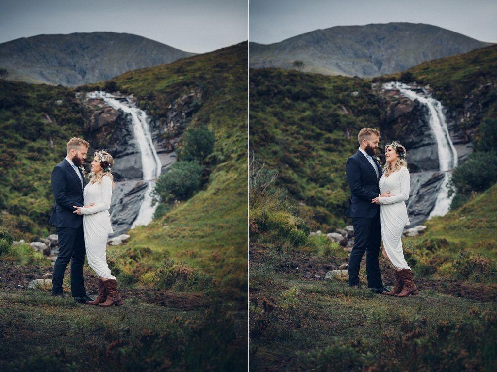 Wedding Shoot Isle Of Skye Elopement Outdoor Scotland Photographers Glasgow