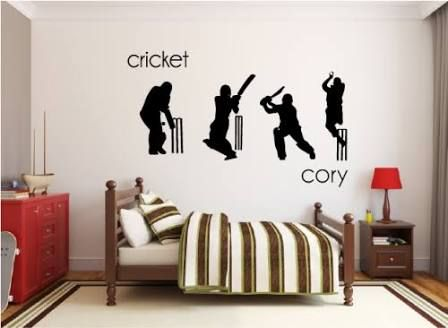 Image result for Bedrooms/cricket | boys bedroom ideas sports ...