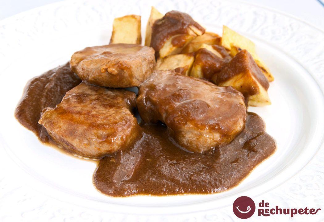 Solomillo De Cerdo Al Whisky Receta Solomillo De Cerdo Comida Sin Carne Comida