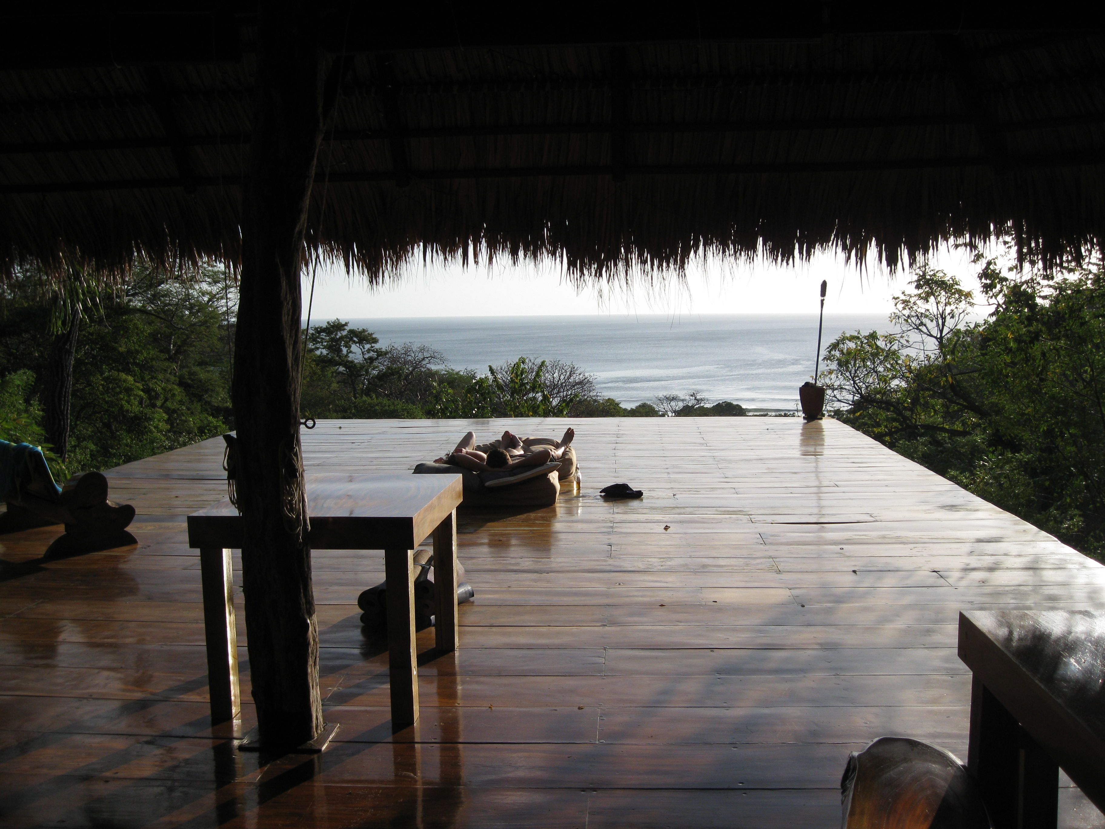 Yoga Deck Facing The Pacific Ocean Above The Rain Forest At Buena Vista Surf Club In Nicaragua Nicaragua Travel Caribbean Travel Global Travel