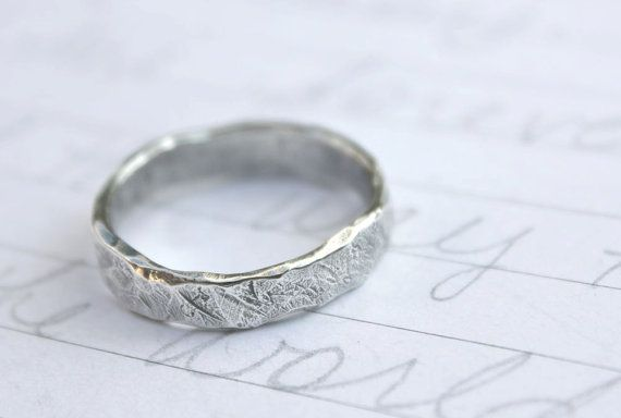Wedding Ring Inscriptions Rustic Wedding Rings Cool Wedding Rings Mens Silver Wedding Bands