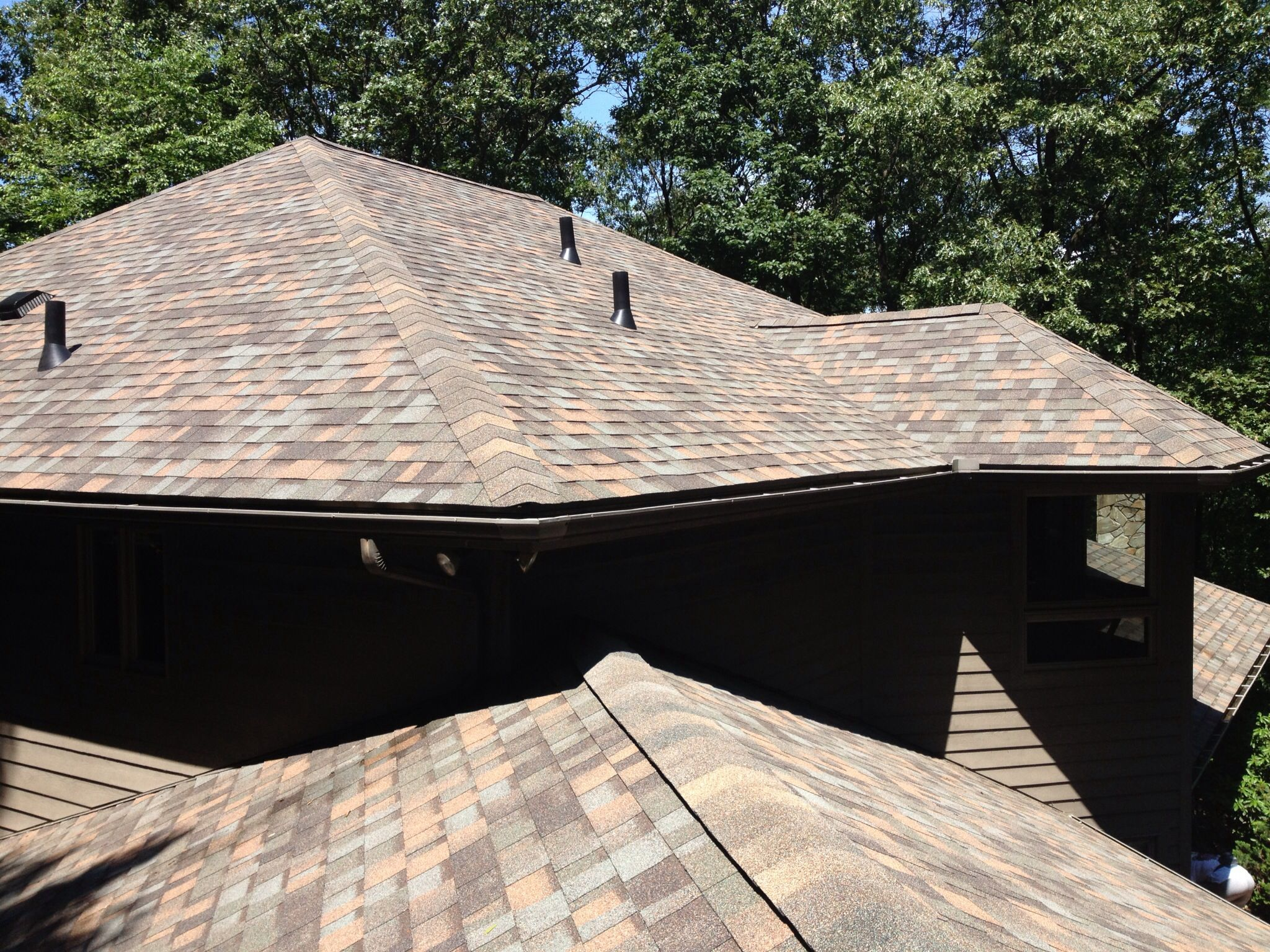 Best Owens Corning Aged Copper Shingle House Roof 400 x 300