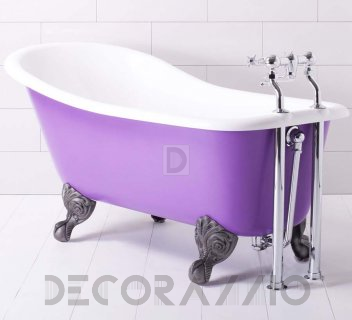 Best baths for your bathroom  Ванна из литьевого мрамора Traditional Bathrooms Mineralguss, ALB.SB5.CPpurple