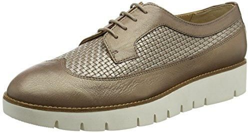 Geox D Airell C, Zapatillas para Mujer, Marrón (Dk Coffee/Taupe), 40 EU