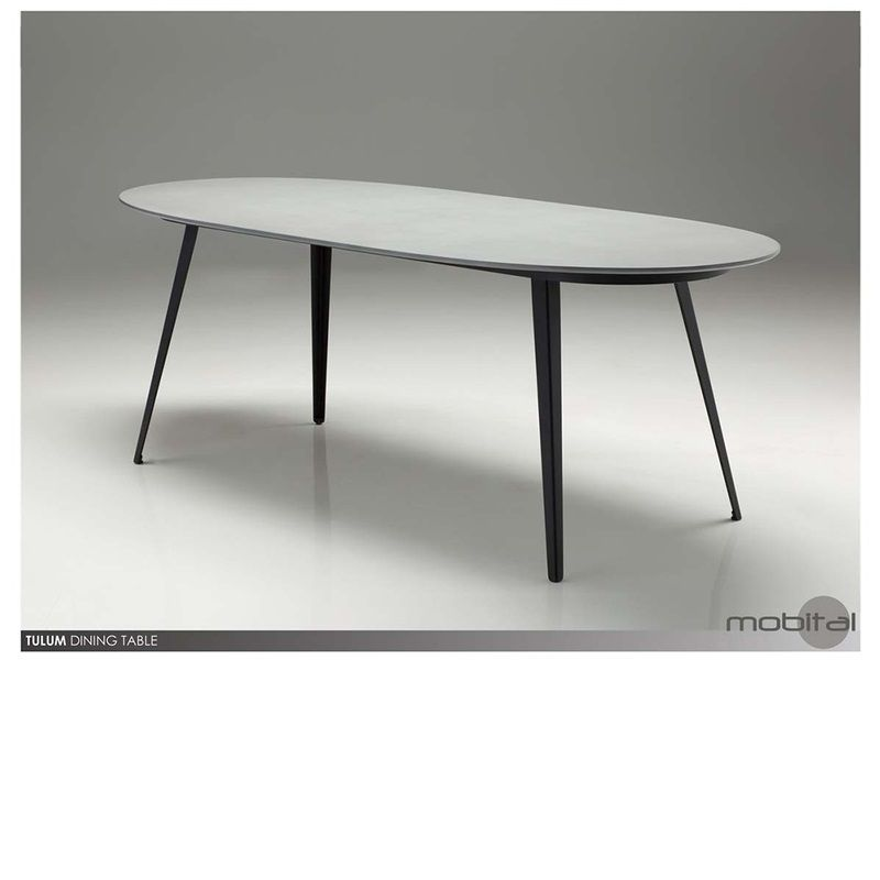 Tulum Dining Table Mikaza Meubles Modernes Montreal Modern Furniture Ottawa Dining Table Dining Table In Kitchen Table
