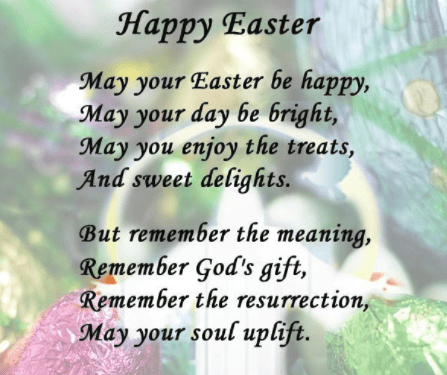 Photo of Happy Easter Poems 2018 For Students Kids Children : Jesus Short Easter Poems Fo…