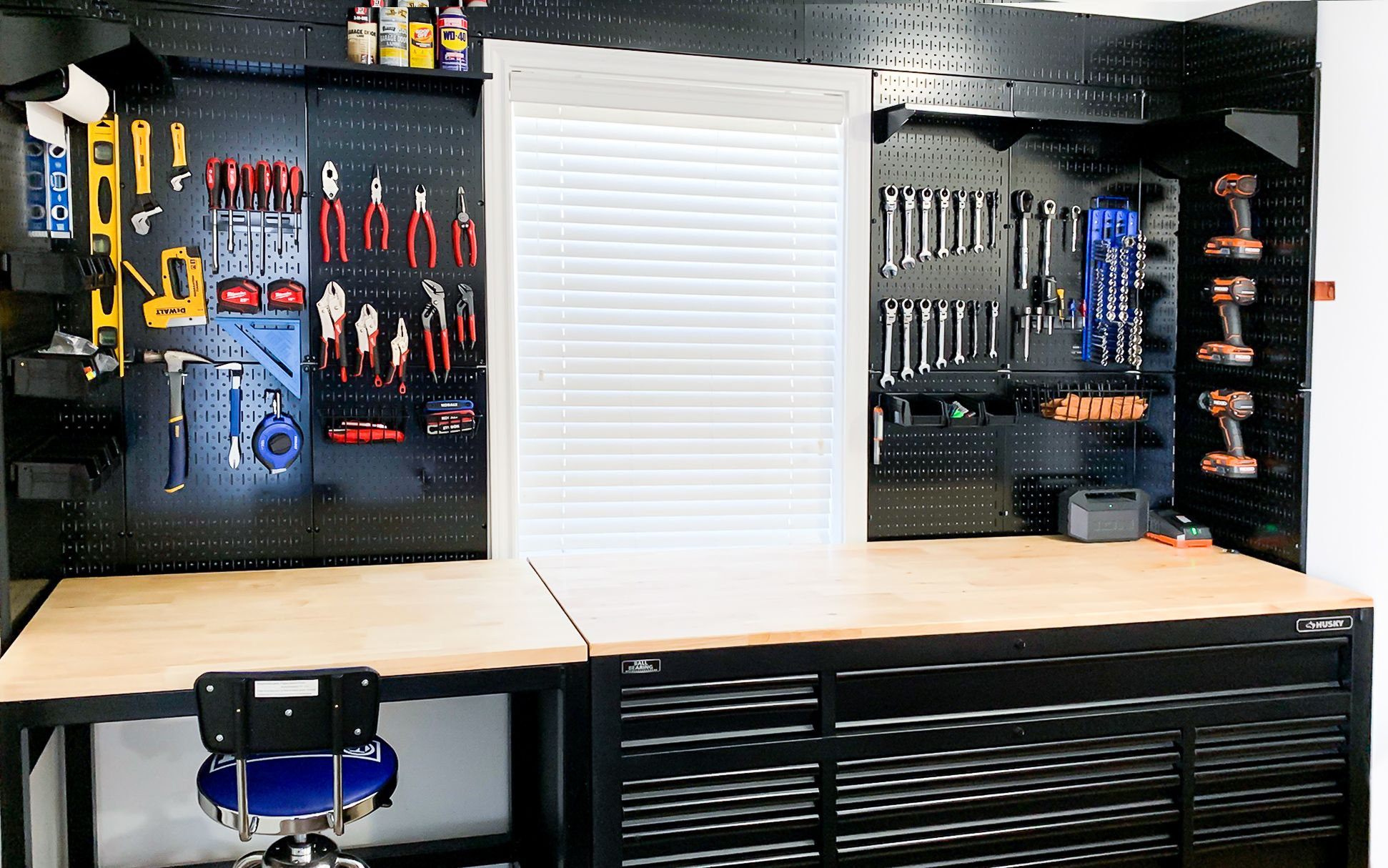 wall control steel pegboard will keep your work bench on wall control id=38508