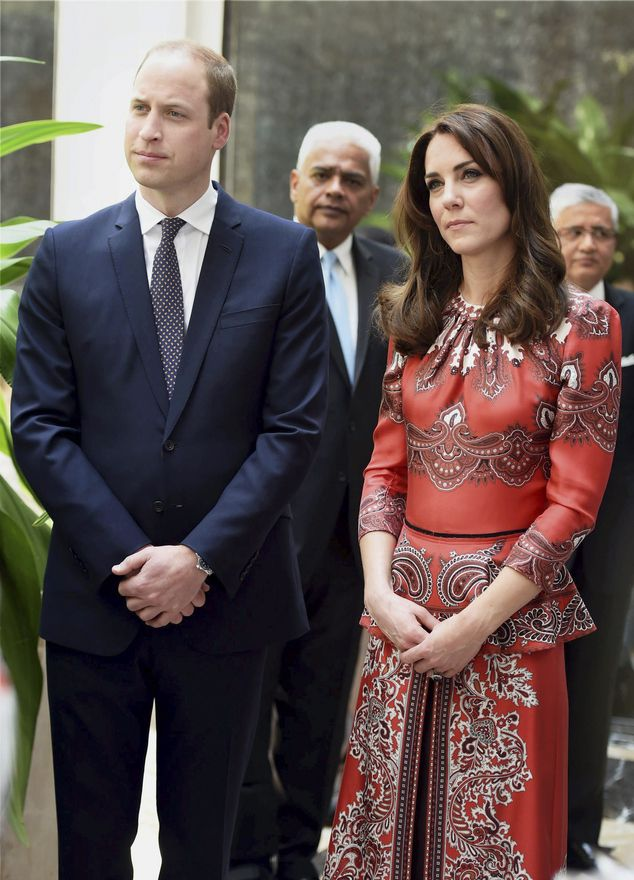 Prince William and wife Kate begin royal tour of India