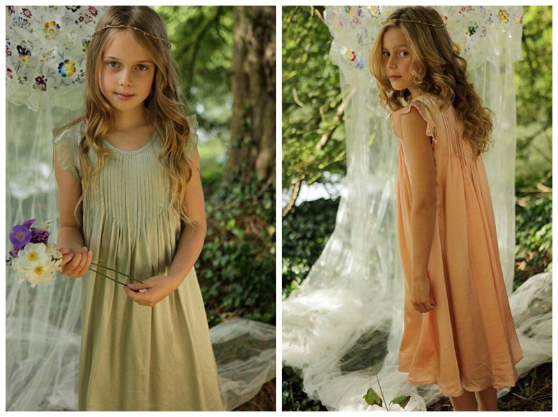 84f5e2f2145 boho flower girl dress